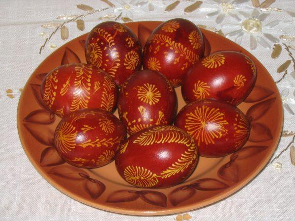 huevos de pascua ortodoxos
